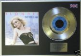"BLONDIE - 7"" Platinum+cover - THE TIDE IS HIGH"